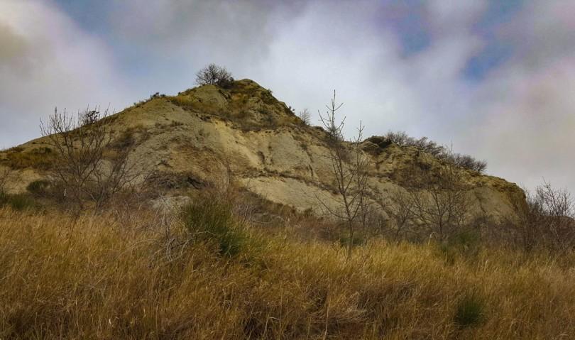 Il forte vento spazza via la Croce dal Monte Penzola