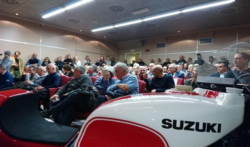 """Grande successo per la serata """"Suzuki RG500"""" promossa da Confartigianato"""