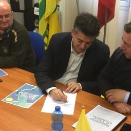 Manca firma il manifesto della Coldiretti