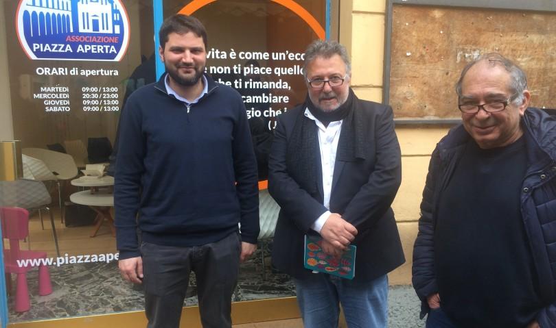 """Nasce l'associazione Piazza Aperta: """"pronti al confronto in vista delle amministrative"""""""
