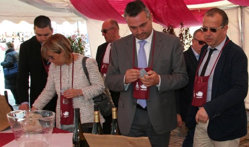 Giornalisti in tour a Castel San Pietro Terme per promuovere Very Wine e le eccellenze del territorio