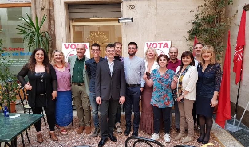 Si presenta Sinistra Unita a sostegno di Filippo Samachini sindaco