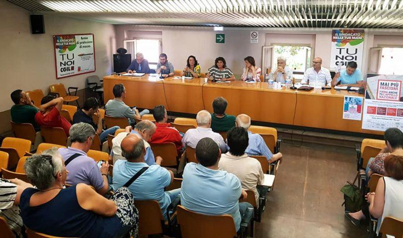 I candidati sindaco hanno incontrato i delegati e attivisti della Cgil di Imola