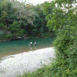 Tornano le gare di pesca sul fiume Santerno