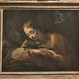 A Palazzo Tozzoni dipinto restaurato grazie al Lions Club Valsanterno