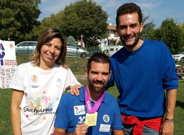 Dozza: il Comune conferisce la cittadinanza onoraria al campione paralimpico Stefano Travisani