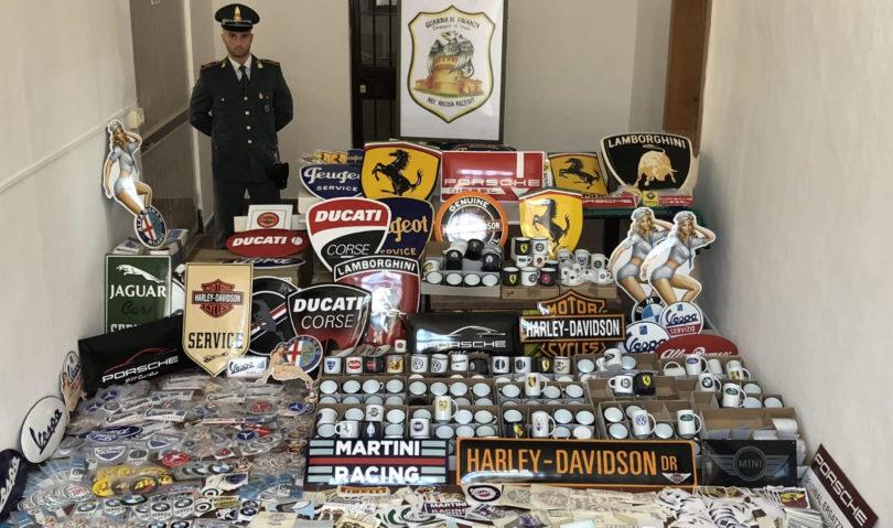 Crame, sequestrati 15.000 prodotti