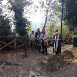Dozza, inaugurata la Passeggiata degli Artisti