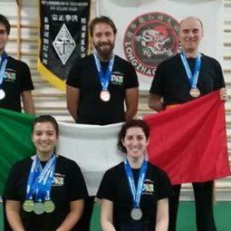 Medaglie e soddisfazioni per l'Accademia Kung Fu Imola