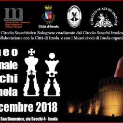 Imola capitale degli scacchi, dal 7 al 9 dicembre. Al Museo San Domenico
