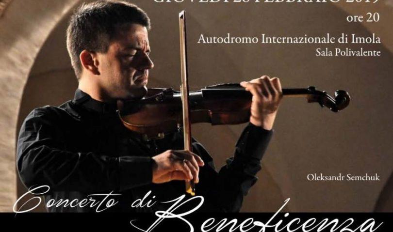 Concerto in Autodromo per il restauro dell'Osservanza