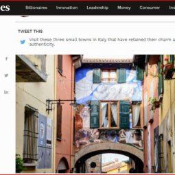 """Da """"Forbes"""" alle apparizioni televisive, il successo del borgo di Dozza"""