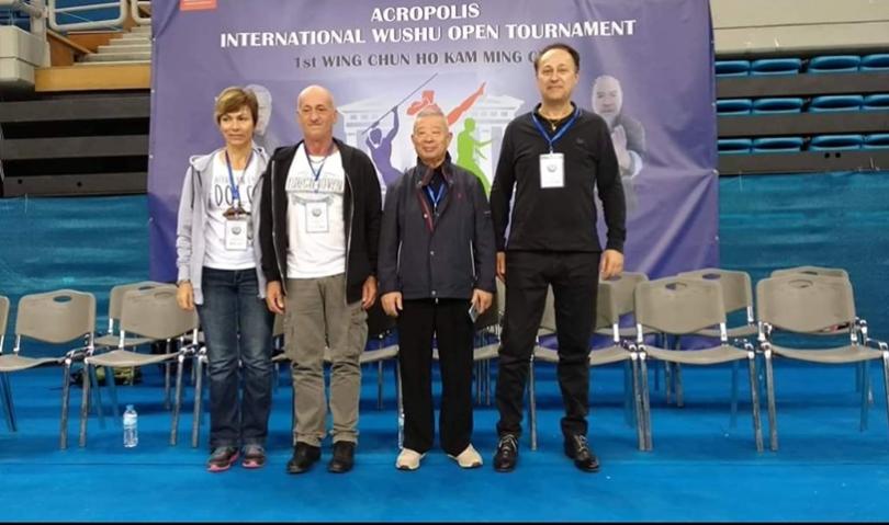Kung fu, per la prima volta in Italia (e a Imola) il Gran Maestro Wu Bin