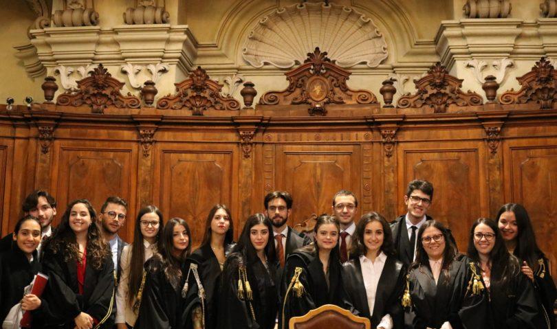 Simulazione processo Cedu all'Unibo. Gli studenti vestono i panni di avvocati della Corte di Strasburgo
