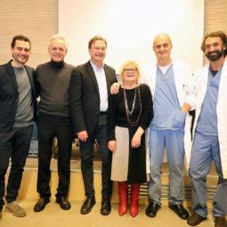 Rina e le sue amiche consegnano un cistoscopio alla UOC di Urologia