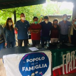 Forza Italia e Popolo della Famiglia presentano la loro lista unica a sostegno di Marchetti