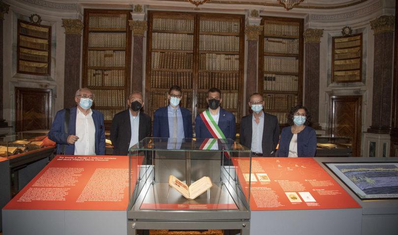 Inaugurata la mostra su Dante, sarà visitabile fino all'11 dicembre