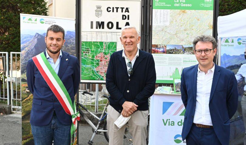 Inaugurata la via del Gesso, 70 Km tra le Vallate del Santerno e del Senio